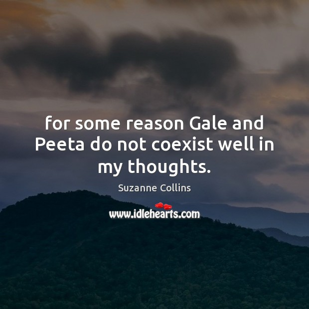 Image, For some reason Gale and Peeta do not coexist well in my thoughts.