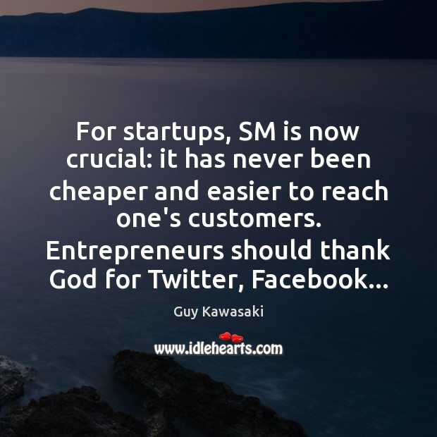 Image, For startups, SM is now crucial: it has never been cheaper and