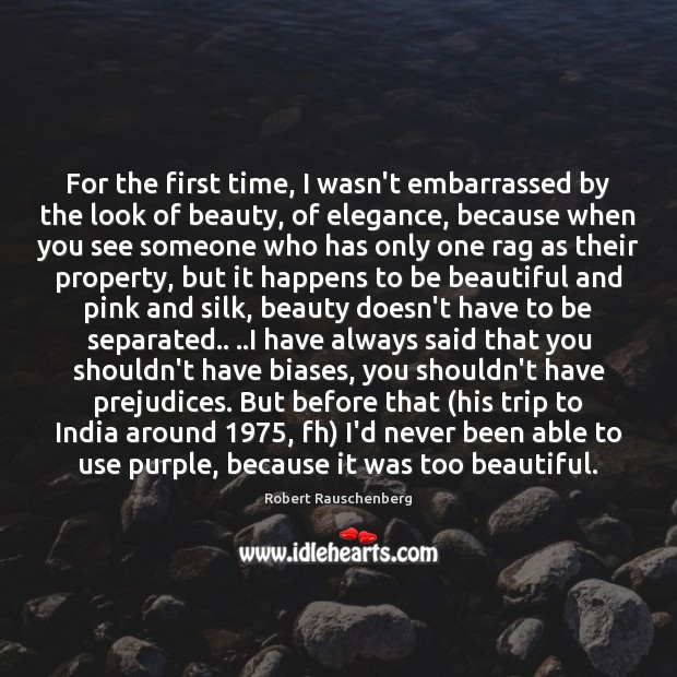For the first time, I wasn't embarrassed by the look of beauty, Image