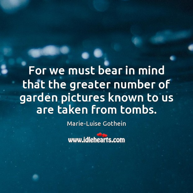 For we must bear in mind that the greater number of garden Image