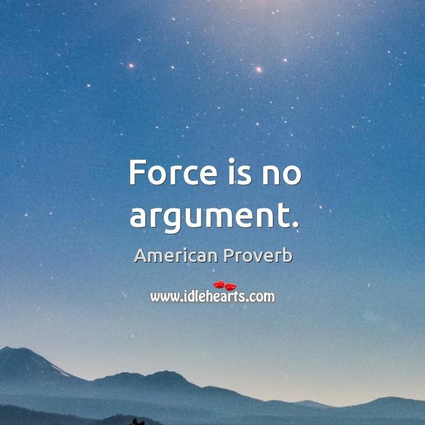 American Proverbs