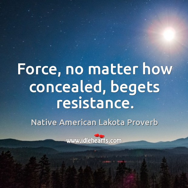Native American Lakota Proverbs