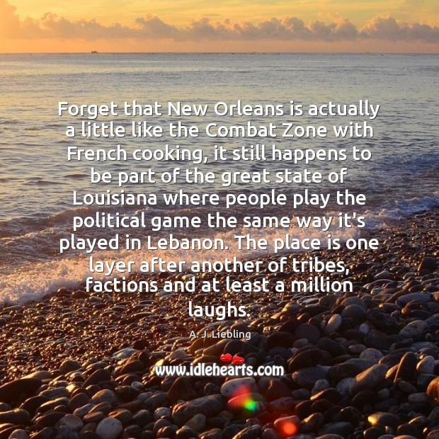 Image, Forget that New Orleans is actually a little like the Combat Zone