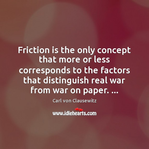 Friction is the only concept that more or less corresponds to the Image