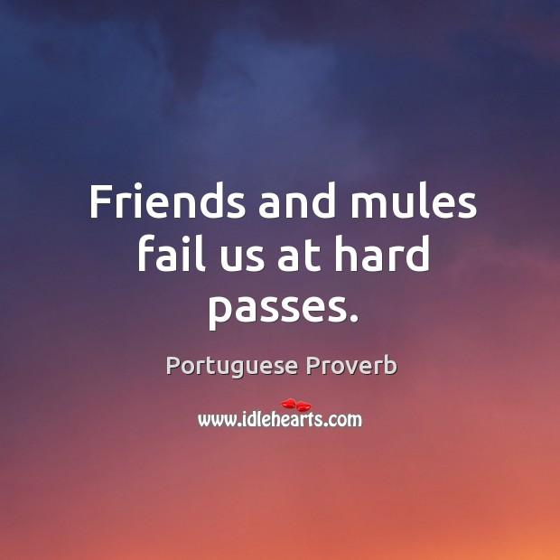 Image, Friends and mules fail us at hard passes.