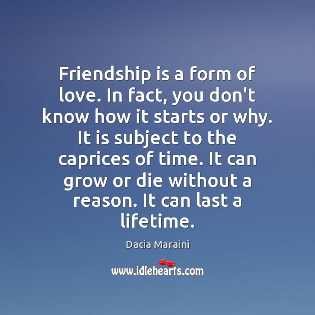 Image about Friendship is a form of love. In fact, you don't know how