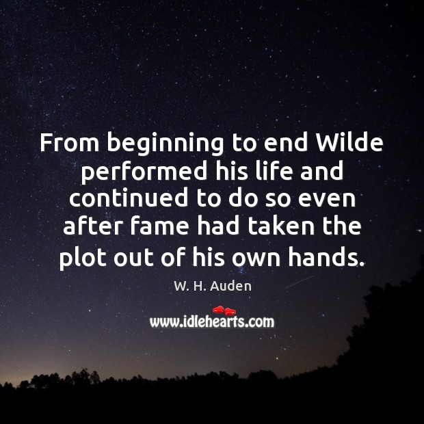 Picture Quote by W. H. Auden