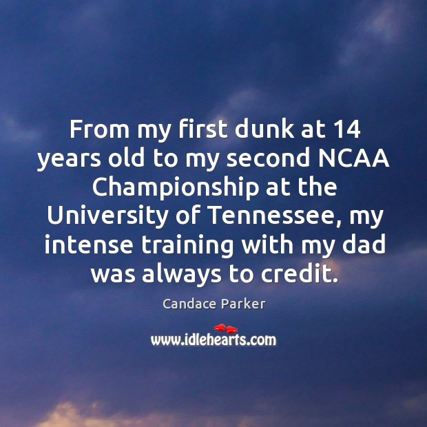Image, From my first dunk at 14 years old to my second ncaa championship at the university of tennessee