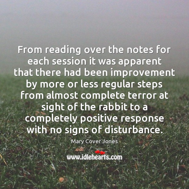 Image, From reading over the notes for each session it was apparent that