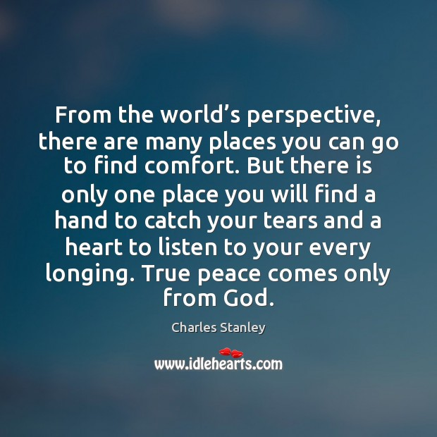 Image, From the world's perspective, there are many places you can go