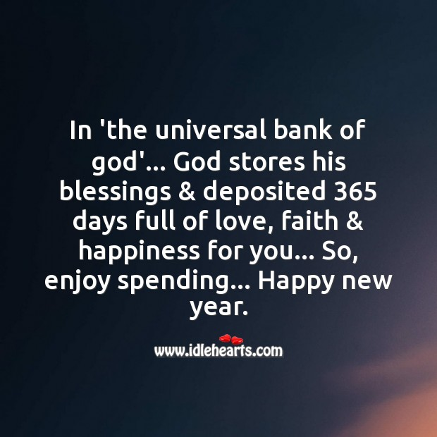 Full of love Happy New Year Messages Image