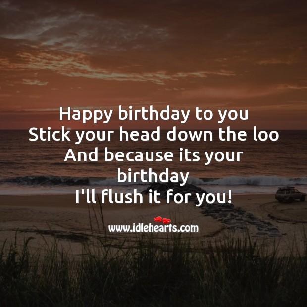 Funny Happy Birthday Wish. Funny Birthday Messages Image