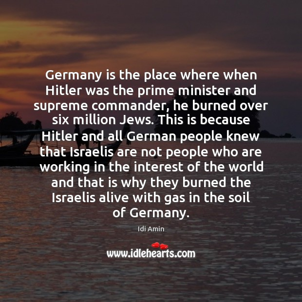 Germany is the place where when Hitler was the prime minister and Image