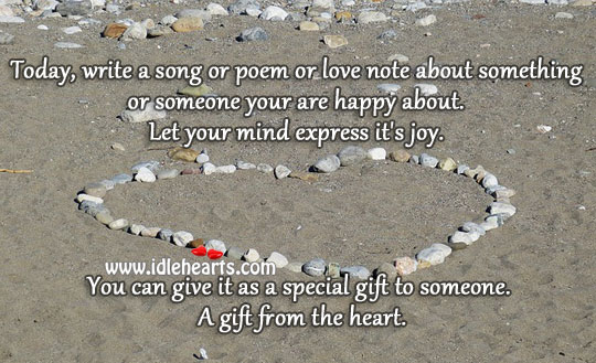 A Gift From The Heart.