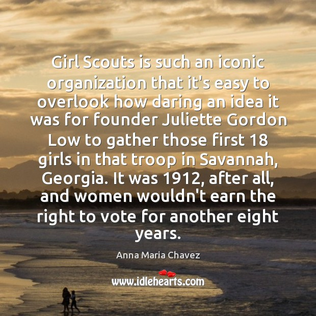 Image, Girl Scouts is such an iconic organization that it's easy to overlook