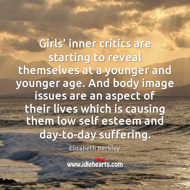 Girls' inner critics are starting to reveal themselves at a younger and Image