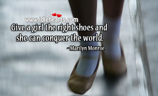 A woman can conquer the world Image