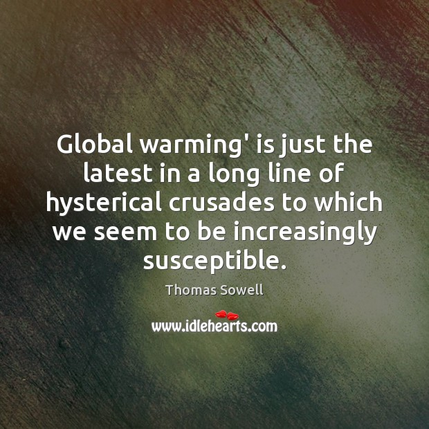 Image, Global warming' is just the latest in a long line of hysterical
