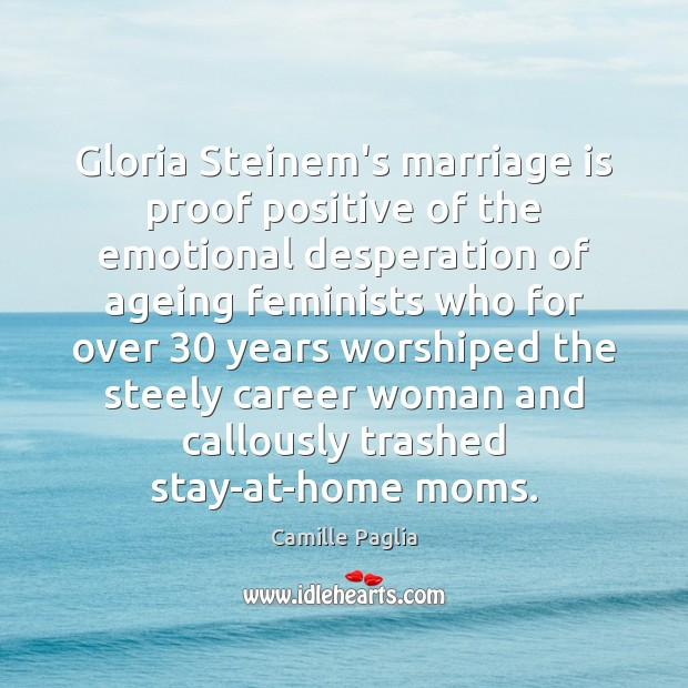 Image, Gloria Steinem's marriage is proof positive of the emotional desperation of ageing