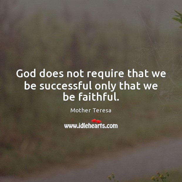 Picture Quote by Mother Teresa