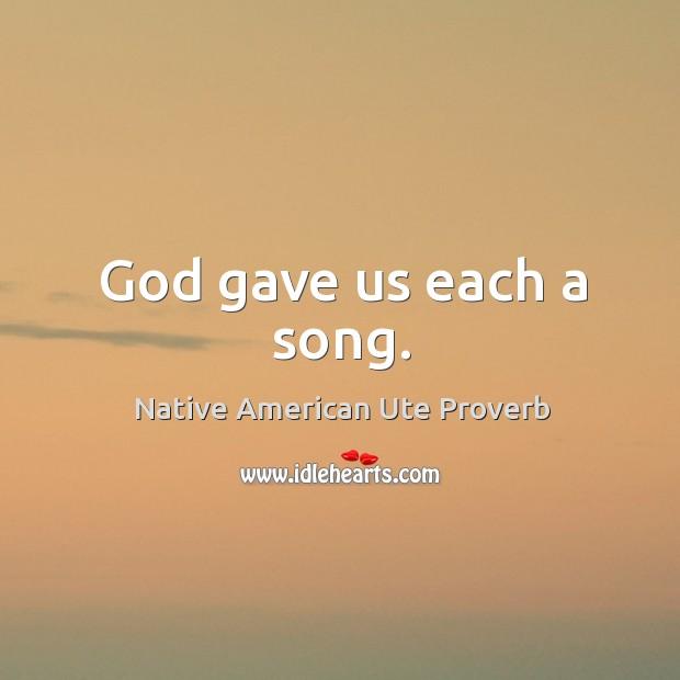 Native American Ute Proverbs