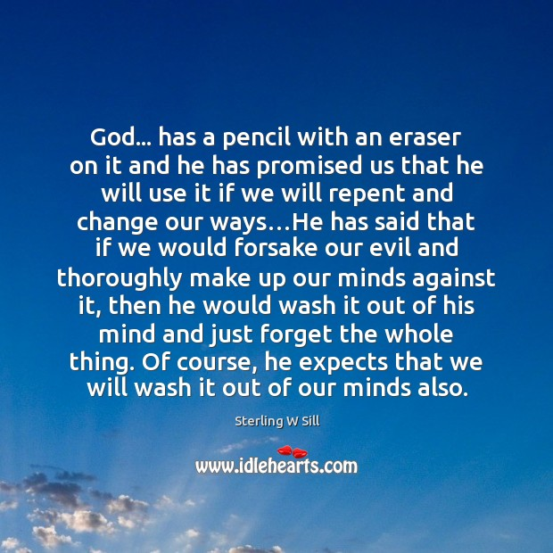 Image about God… has a pencil with an eraser on it and he has