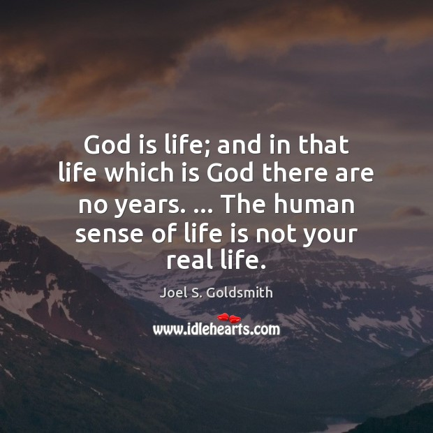 God is life; and in that life which is God there are Image