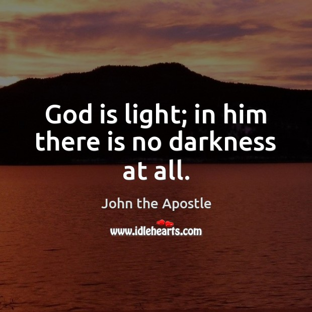 Picture Quote by John the Apostle