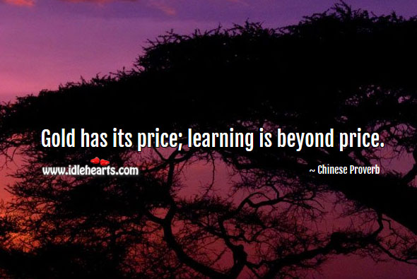 Gold, Learning, Price