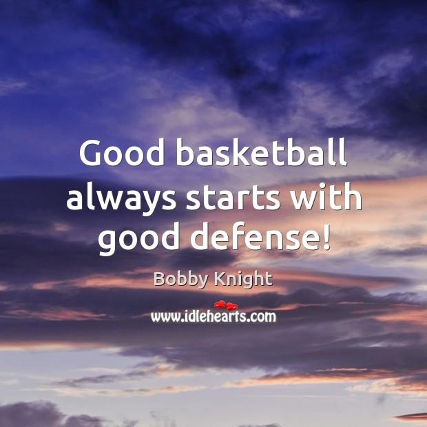 Good basketball always starts with good defense! Image