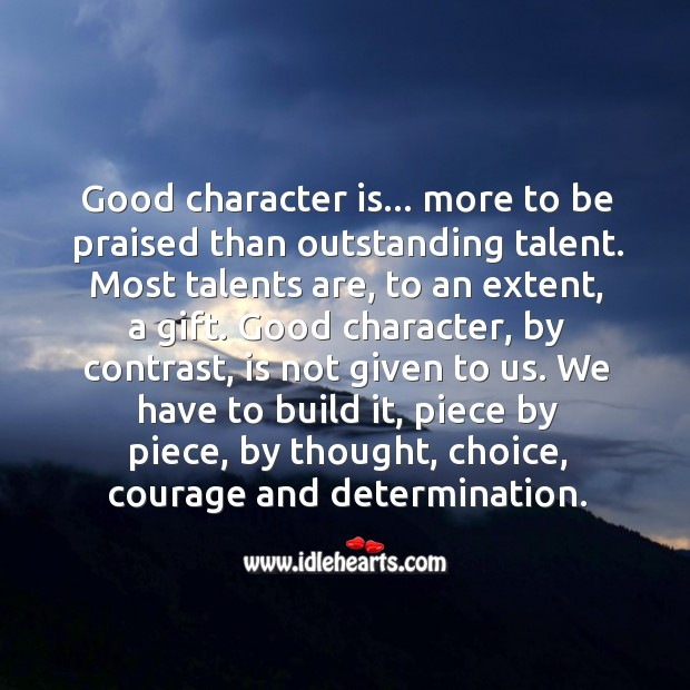 Good Character Quotes