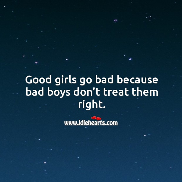 Why girls go for bad boys