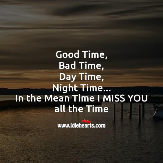 Good time, bad time Image