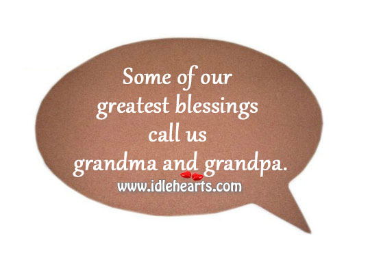 Some Of Our Greatest Blessings