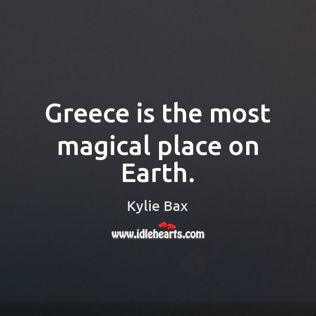 Greece is the most magical place on Earth. Image