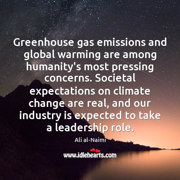 Image, Greenhouse gas emissions and global warming are among humanity's most pressing concerns.