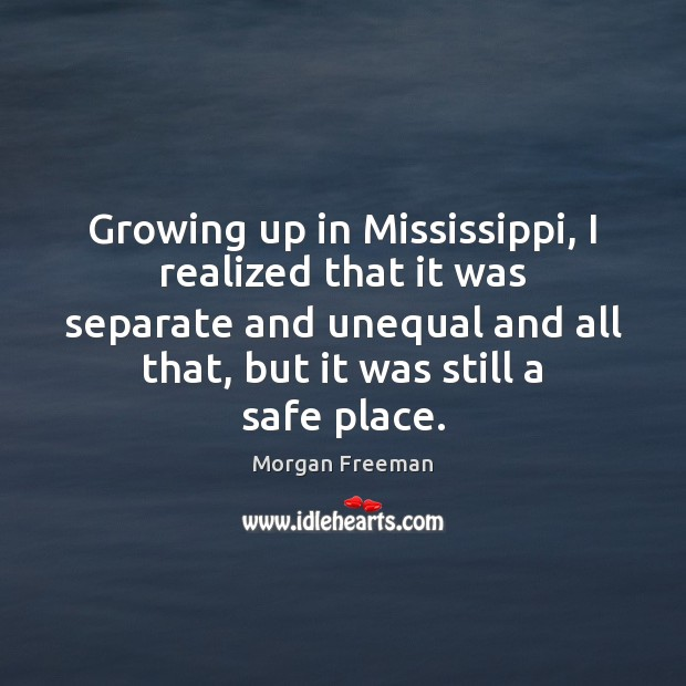 Growing up in Mississippi, I realized that it was separate and unequal Image