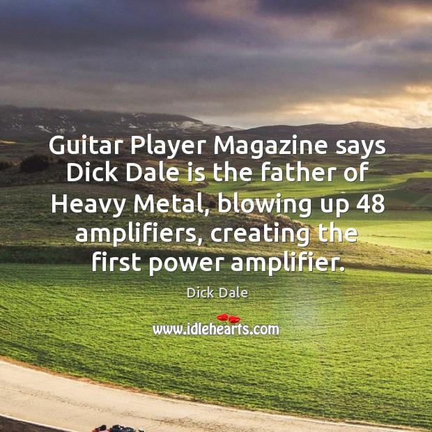 Guitar player dole dicks
