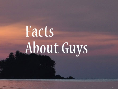 Image, Facts about guys