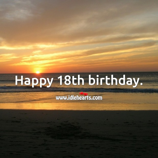 18th Birthday Messages