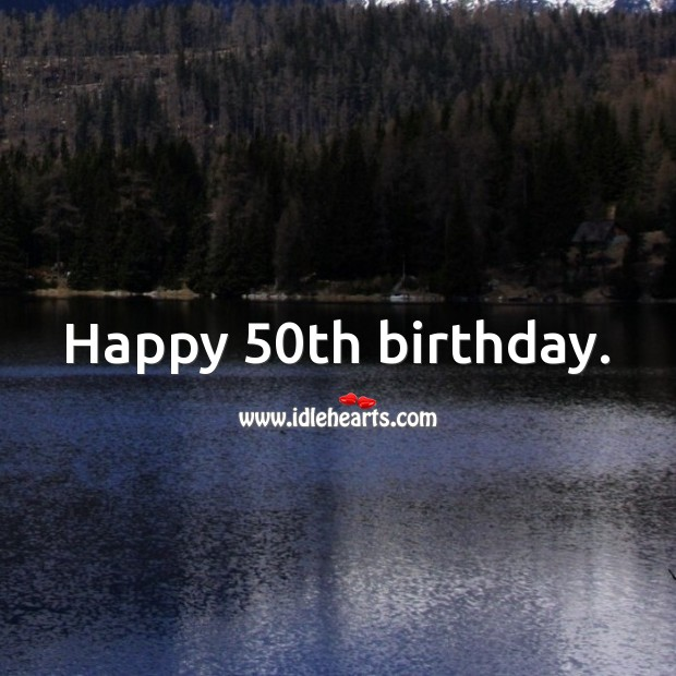 50th Birthday Messages