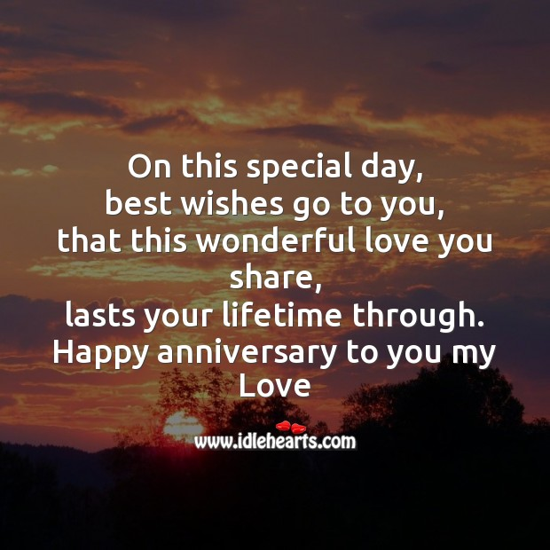Image, Happy anniversary to you my love