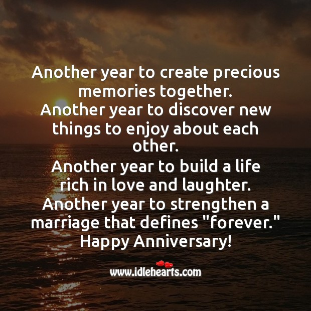 Image, Happy anniversary!