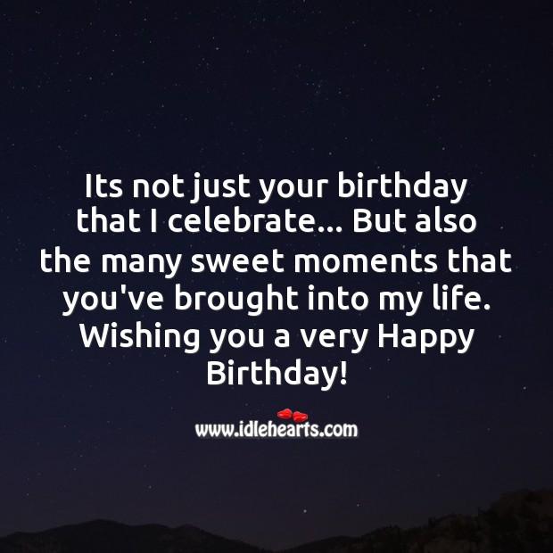 Image, Happy birthday! celebrate the sweet day.