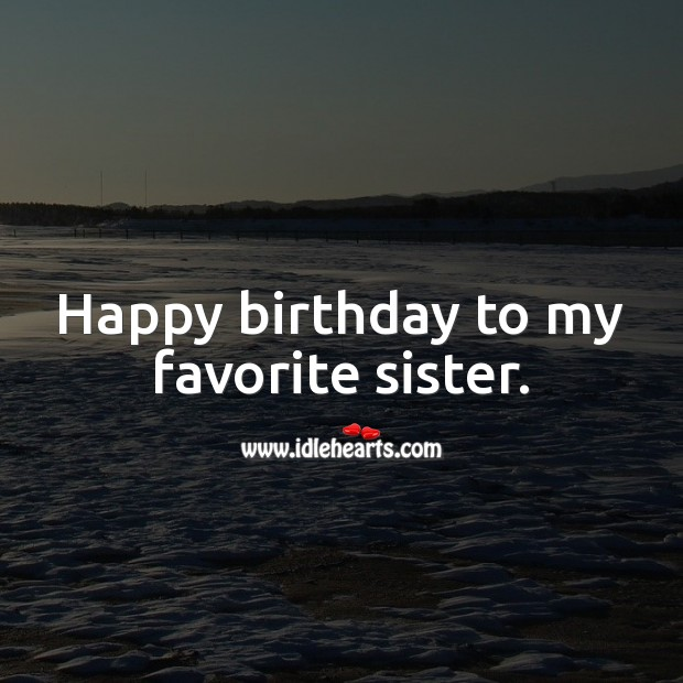 Birthday Messages for Sister