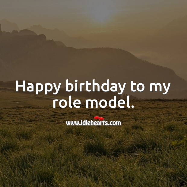 Happy birthday to my role model. Birthday Messages for Mom Image