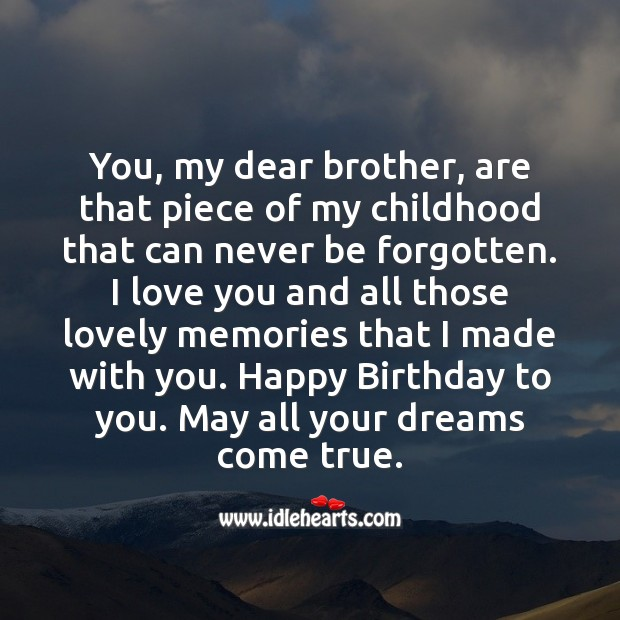 Happy birthday to you. May all your dreams come true. Image