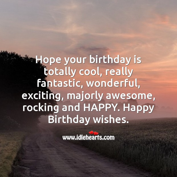 Happy birthday wishes Birthday Quotes Image