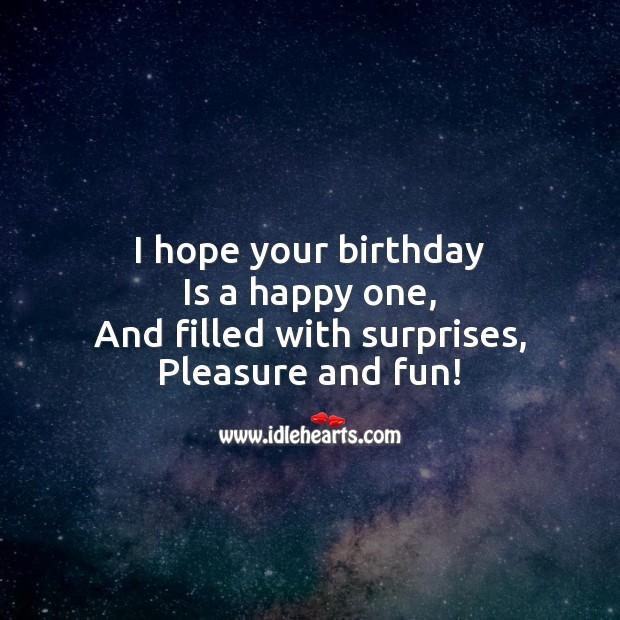 Image, Happy birthday