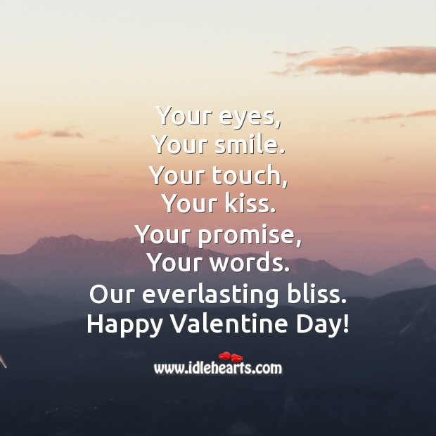 Happy blissful valentine's day! Image
